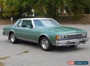 1978 Chevrolet Caprice Classic Landau Coupe for Sale