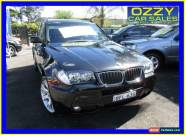 2008 BMW X3 E83 MY09 xDrive 20D Lifestyle Black Automatic 6sp A Wagon for Sale