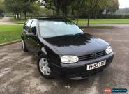 2003 (53) VOLKSWAGEN GOLF 1.9 GT TDI PD 130 BHP, 6 SPEED, 5DR, LOW MILES for Sale