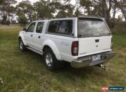 2010 NAVARA D22 STR TWIN CAB UTE WITH CANOPY for Sale