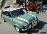 Mini: Classic Mini 35TH ANNIVERSARY for Sale