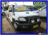 2005 Toyota Hilux KUN16R SR White Manual 5sp M Dual Cab Pick-up for Sale