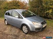 2004 FORD FOCUS C-MAX 2.0 TDCI EURO 4 GHIA 6 SPEED ONLY 92000 MILES FULL LEATHER for Sale