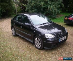 Classic 2001 Vauxhall Astra 1.8 Sri for Sale