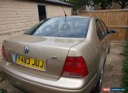 VW BORA 2.0 (NO MOT , SORNED , DOES START AND DRIVE) for Sale