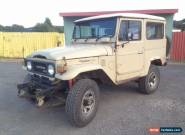 """1982 BJ42 LX Diesel """"Freeborn Red"""" Toyota  for Sale"""