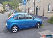 Ford Focus 1.6 Zetec Petrol Blue 83000 miles 12 month mot  for Sale