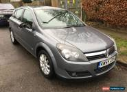 2006 VAUXHALL ASTRA DESIGN CDTI 120 GREY SPARES REPAIR for Sale