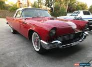 FORD 1957 T'BIRD AUTO, A/C POWER STEER for Sale