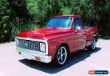 Classic 1972 Chevrolet C-10 Custom for Sale