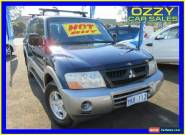 2003 Mitsubishi Pajero NP GLS LWB (4x4) Blue Automatic 5sp A Wagon for Sale
