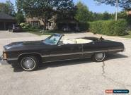 Chevrolet: Caprice Convertible for Sale