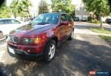 Classic BMW: X5 3.0L very low 126750 km all original no rust for Sale