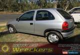 Classic Holden Barina City 1998 Silver Automatic Hatchback  for Sale