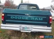 1993 Dodge Ram 1500 for Sale