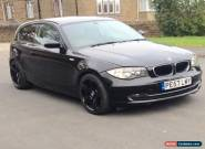 2007 BMW 1 Series 118i Low Mileage 63k,Runs&Drives,SPARES & REPAIRS  for Sale