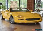 2002 Maserati Spyder Cambiocorsa Convertible 2-Door for Sale