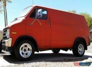 1976 Dodge Ram Van for Sale