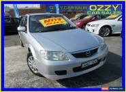 2002 Mazda 323 Astina Silver Automatic 4sp A Hatchback for Sale