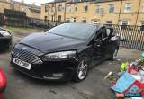 Classic 2017 FORD FOCUS ZETEC EDITION BLACK 1.0 ECOBOOST DAMAGED SALVAGE  for Sale