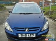 2001 PEUGEOT 307 STYLE HDI BLUE for Sale
