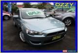 Classic 2009 Mitsubishi Lancer CJ MY09 ES Green Automatic 6sp A Sedan for Sale