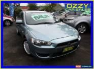 2009 Mitsubishi Lancer CJ MY09 ES Green Automatic 6sp A Sedan for Sale
