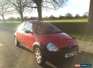 2003 FORD KA 1.3 PETROL MANUAL for Sale
