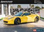 2011 Ferrari 458 for Sale