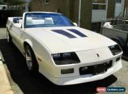 Chevrolet: Camaro IROC Z28 for Sale