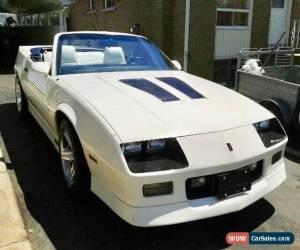 Classic Chevrolet: Camaro IROC Z28 for Sale