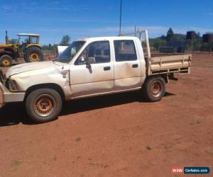 Classic 1991 Diesel Toyota hilux Dual cab for Sale