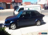VW GOLF MK 1 CABRIOLET 1993  for Sale
