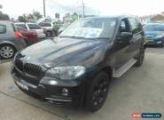 2007 BMW X5 E70 3.0D Black Automatic 6sp A Wagon for Sale