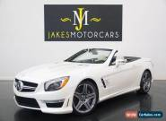 2013 Mercedes-Benz SL-Class SL63 AMG ($155,790 MSRP) for Sale