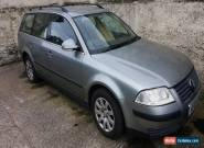 2005 VW Passat  1.9 tdi - Spares or repair - please read listing for Sale