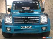 MERCEDES G WAGON G WAGEN DIESEL AMG KIT MODIFIED CUSTOM 22 ALLOYS CHEAP PROJECT  for Sale