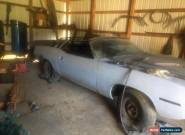 1972 Plymouth Barracuda Cuda for Sale