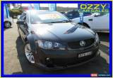 Classic 2010 Holden Commodore VE MY10 SV6 Black Automatic 6sp A Sedan for Sale