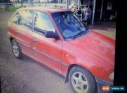 Holden Astra Sedan 1998 for Sale
