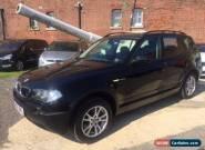 2006 06 BMW X3 2.0 D SE 5D 148 BHP DIESEL for Sale