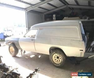 Classic Holden Sandman Overlander 4x4 Panelvan for Sale