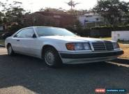 MERCEDES BENZ W124 C124 COUPE 1990 NOT AMG for Sale