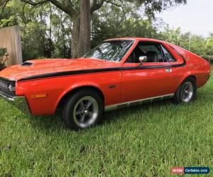 Classic 1970 AMC AMX for Sale