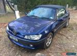 2002 Peugeot 306 Convertible  for Sale