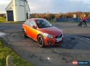 2010 VOLVO C30 SE D DRIVE ORANGE for Sale