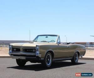 Classic 1966 Pontiac GTO for Sale