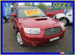 2007 Subaru Forester MY07 XT Luxury Red Automatic 4sp A Wagon for Sale