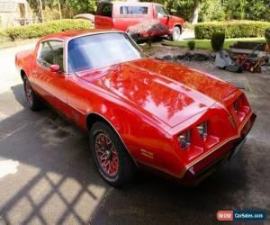 """Classic Pontiac 1979 Firebird """"REDBIRD"""" for Sale"""