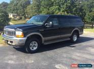 2001 Ford Excursion Limited Turbo Diesel for Sale